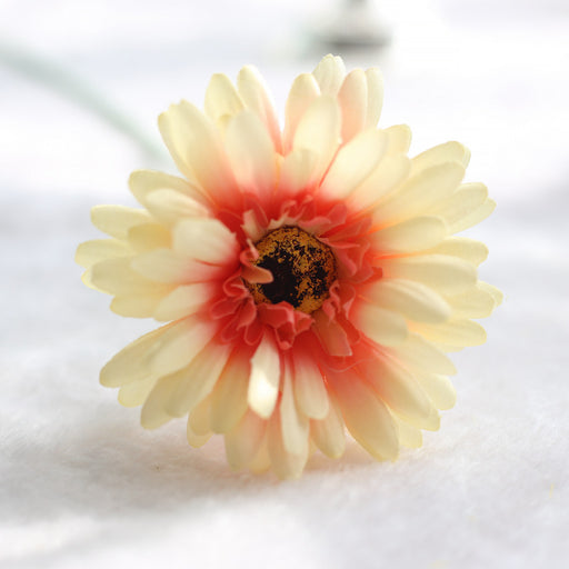 Comfyee Yellow Weddings Bouquets Cheap Sunflowers Artificial Silk Flower