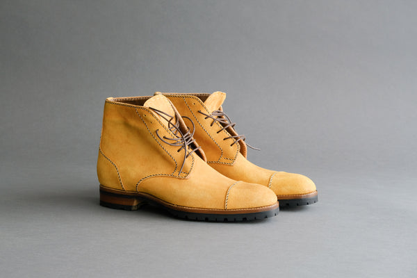 ZB 086 Hand Sewn Derby Boots