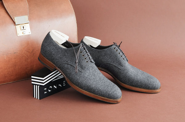 ZB 126 Plain Derby in Wool
