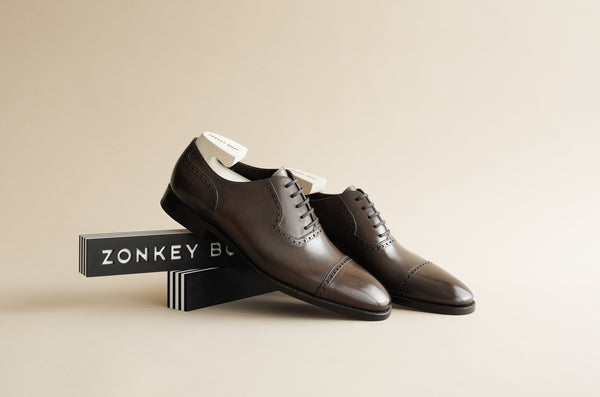 ZB 140 Quarter Brogue Oxfords