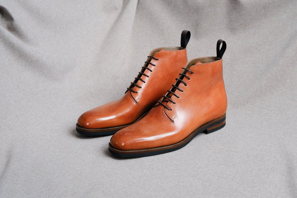 ZB 231 Wholecut Derby Boots