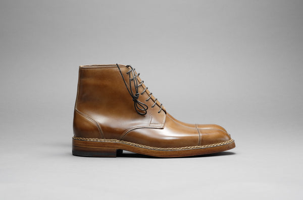 ZB 022 Toe-Cap Derby Boots