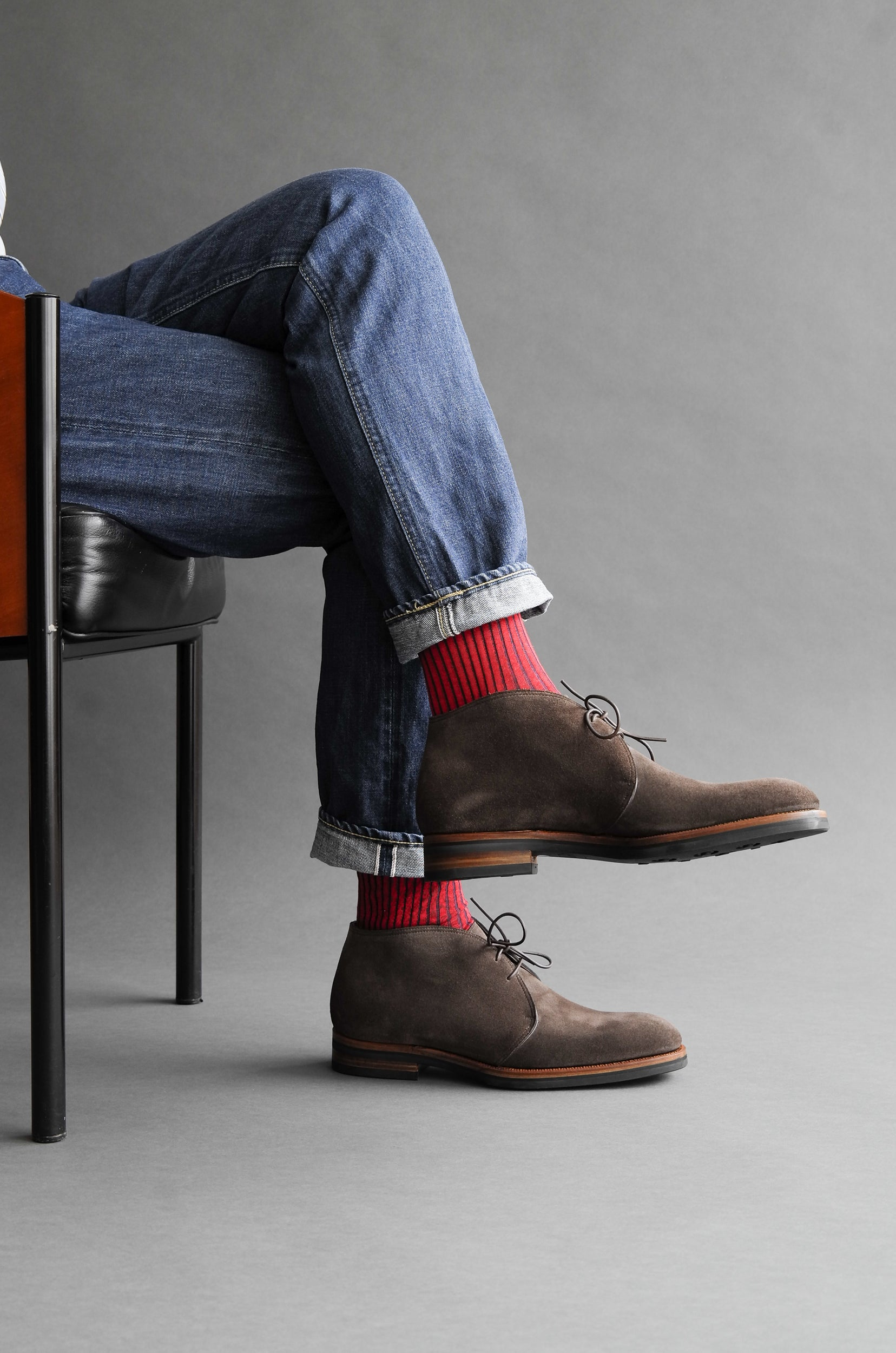 Zonkey Boor hand welted two eyelet chukka boots from hunting suede