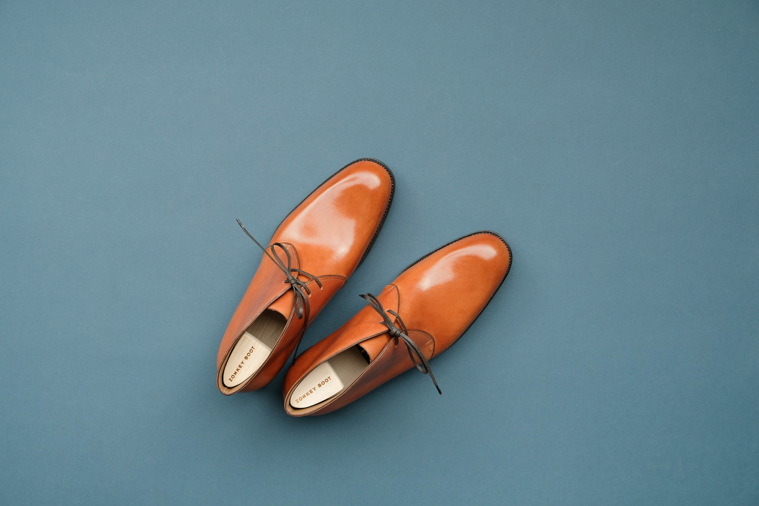 Zonkey Boot hand welted chukka boots from vegetable tanned bovine leather
