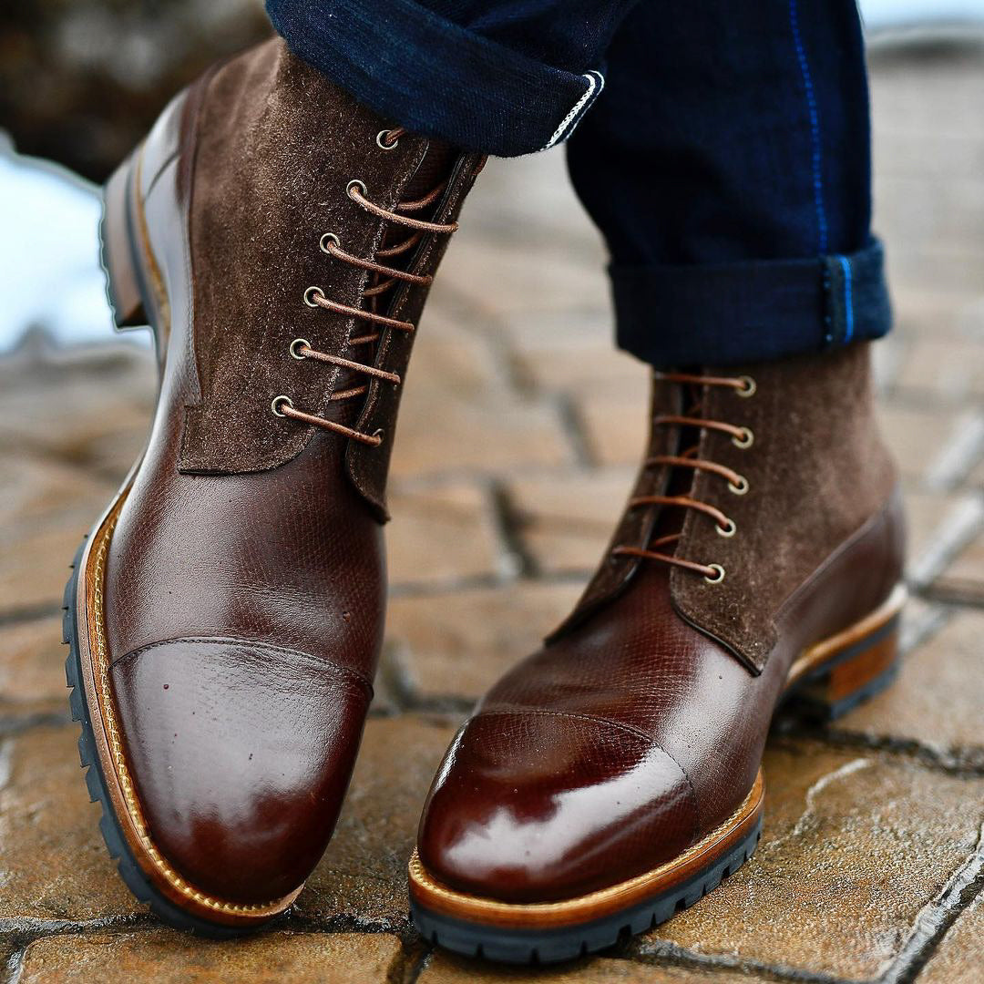 Zonkey Boot hand welted field boots