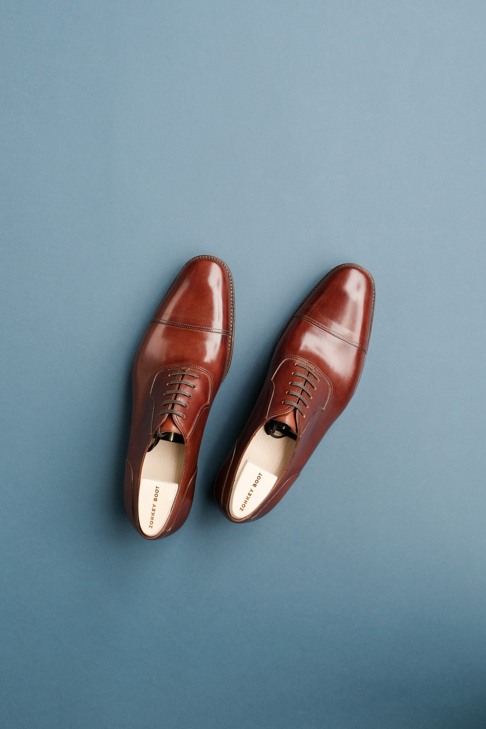 Zonkey Boot hand welted toe-cap oxfords on the High Street last