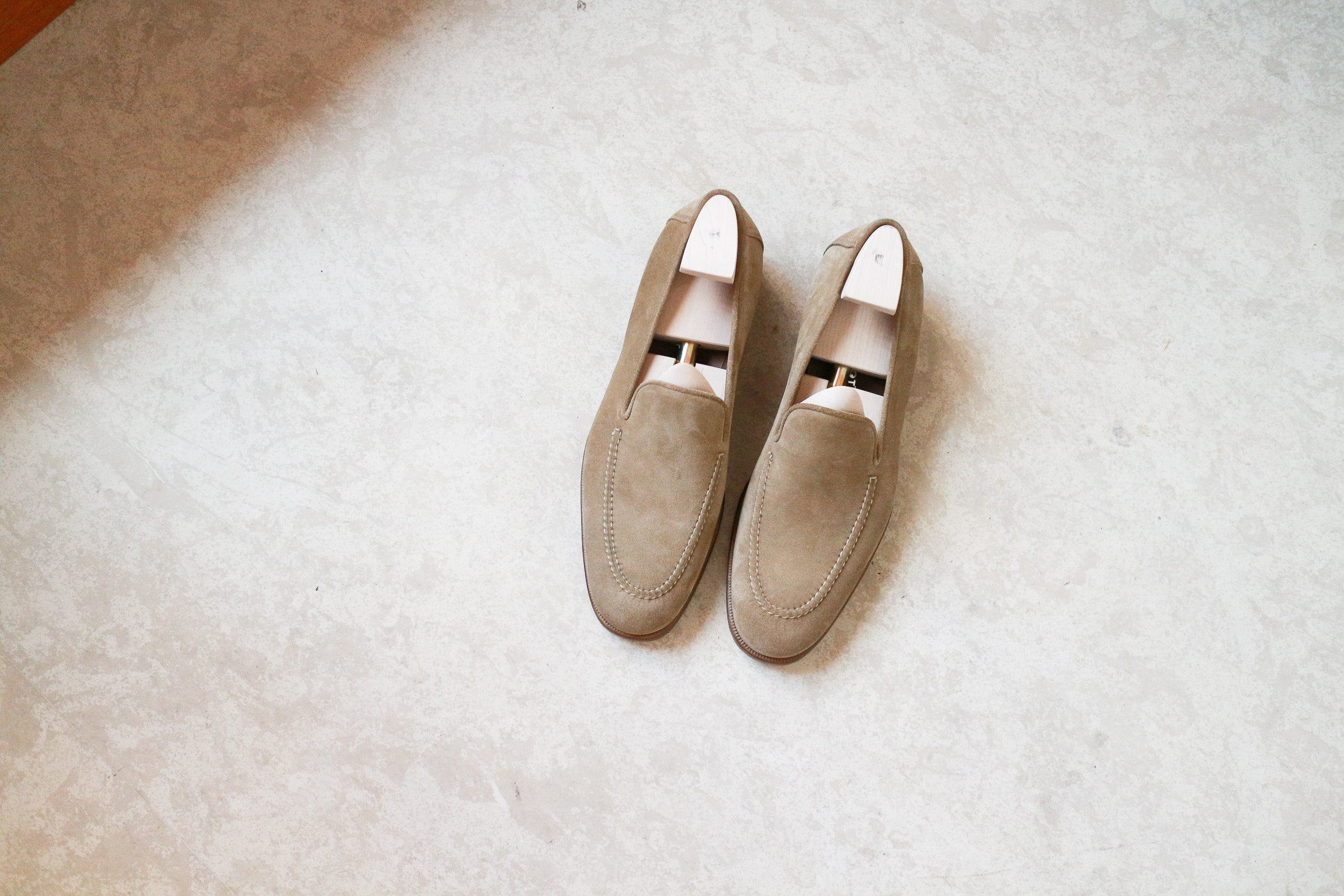 Zonkey Boot loafers with hand sewn aprons