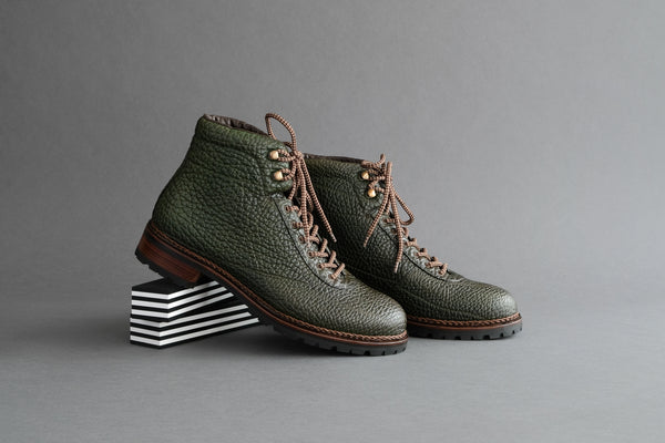 OneFiveFour.Midori Hiking Boots from Shrunken Bull Leather
