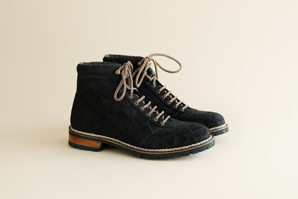 OneFiveFour.Karl Hiking Boots from Elephant Leather