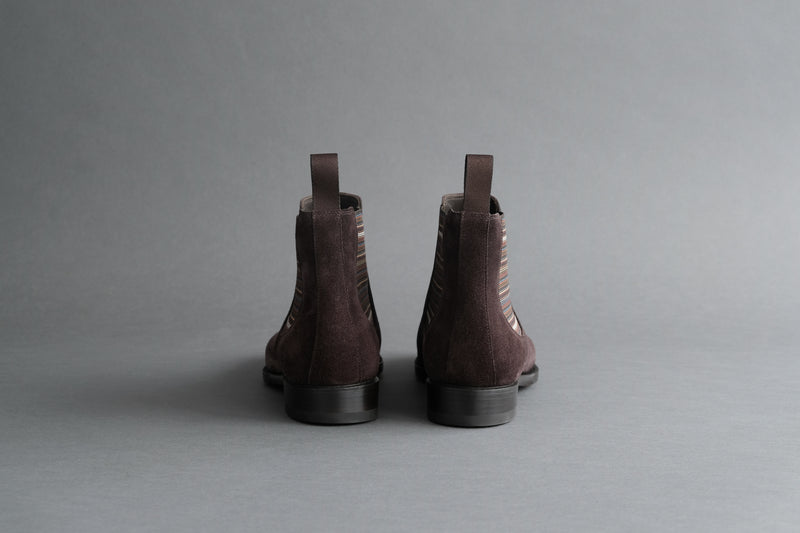 ZeroThreeThree.Haruki Brown Suede Chelsea Boots