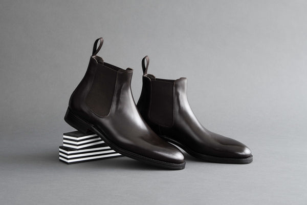 ZeroThreeThree.Perique Chelsea Boots from Bavarian Calf