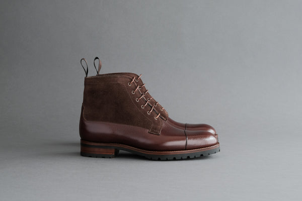 TwoFourZero.Field Derby Boots from Russian Reindeer
