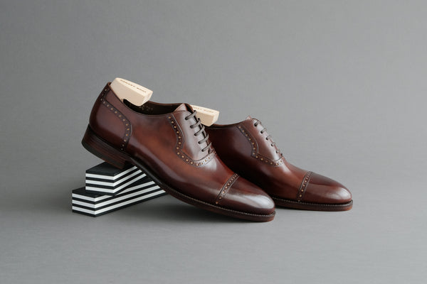 OneFourZero.Milton Quarter Brogue Oxfords