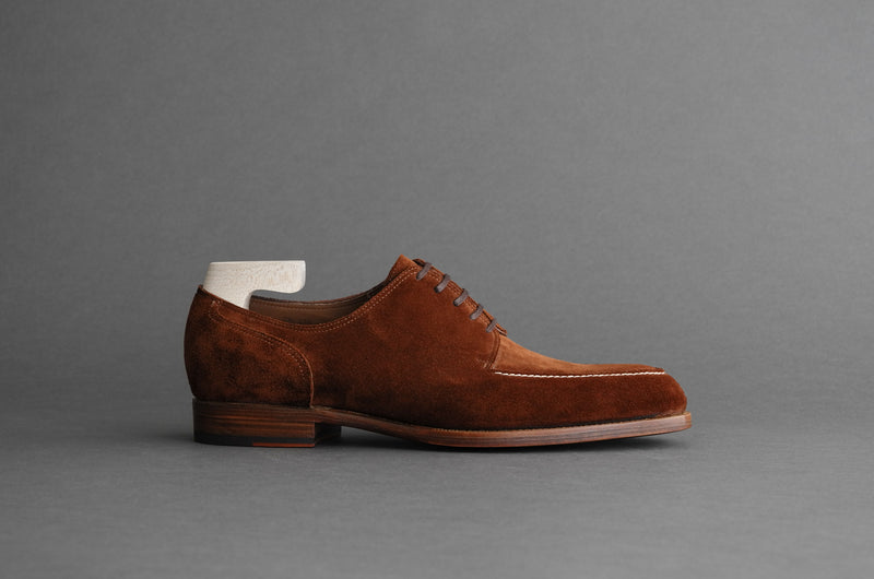 TwoOneFour.Ragnar Split-toe Derby From Calf Suede