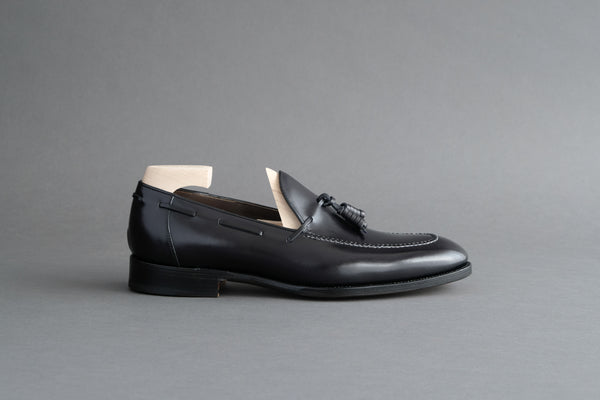 ZeroSixOne.Monroe Tassel Loafers From Bavarian Calf