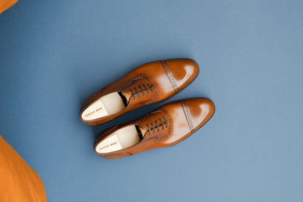 OneFourZero.London Quarter Brogue Oxfords