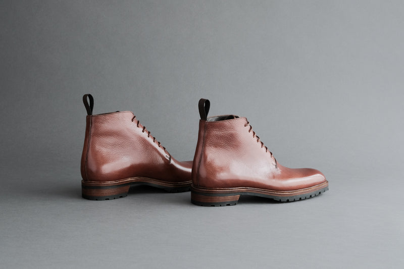 TwoThreeOne.Work III Wholecut Derby from Vegetable Tanned Leather