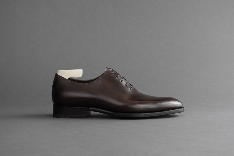 OneFourFour.Mahon Wholecut Oxfords From Bavarian Calf