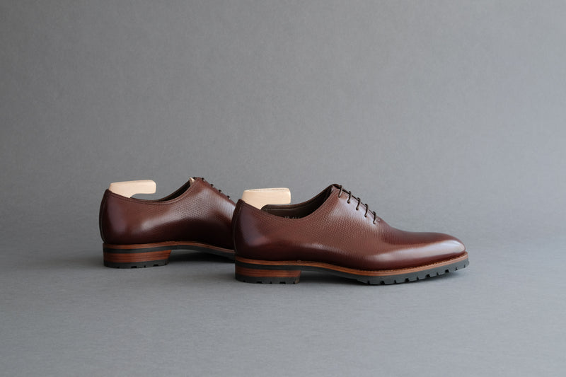 OneFourFour.Tundra Wholecut Oxfords From Russian Reindeer