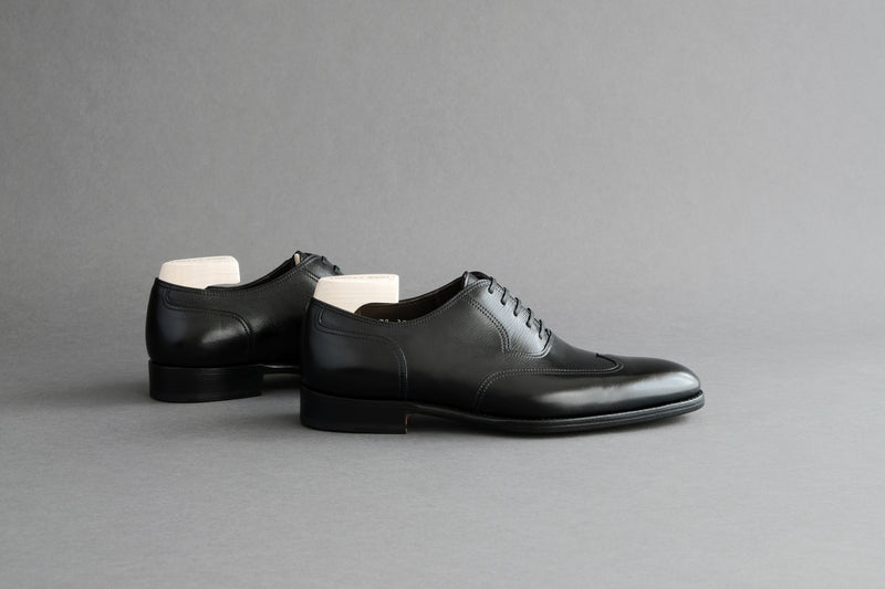 TwoFiveZero.Downtown Plain Wingtip Oxfords From Calf Leather