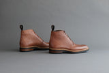 TwoThreeOne.Albrecht Wholecut Derby Boots From Shrunken Bull