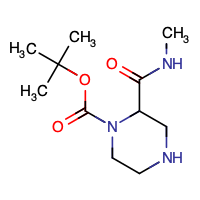 tert-butyl 2-(methylcarbamoyl)piperazine-1-carboxylate