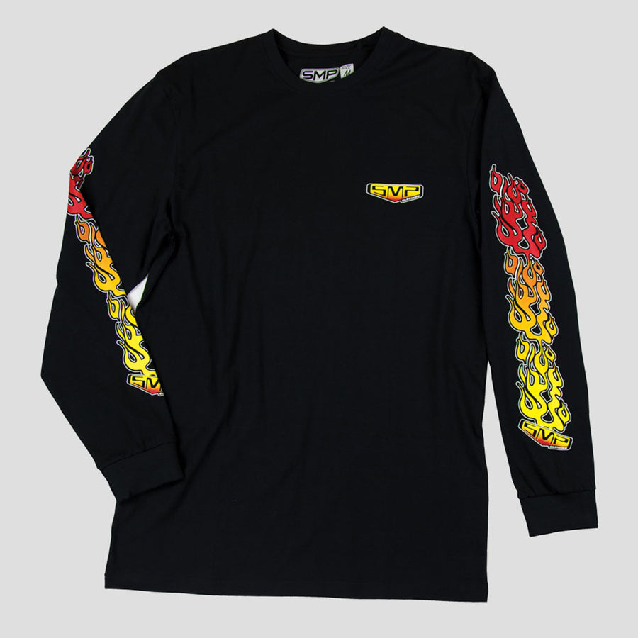 Flame Thrower L/S T-Shirt - smpclothing