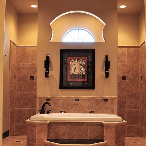 Designer Bathroom Ceilings
