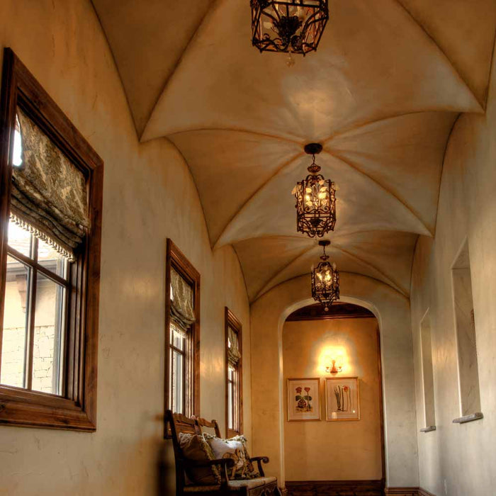 Getting Creative With A Groin Vault Ceiling