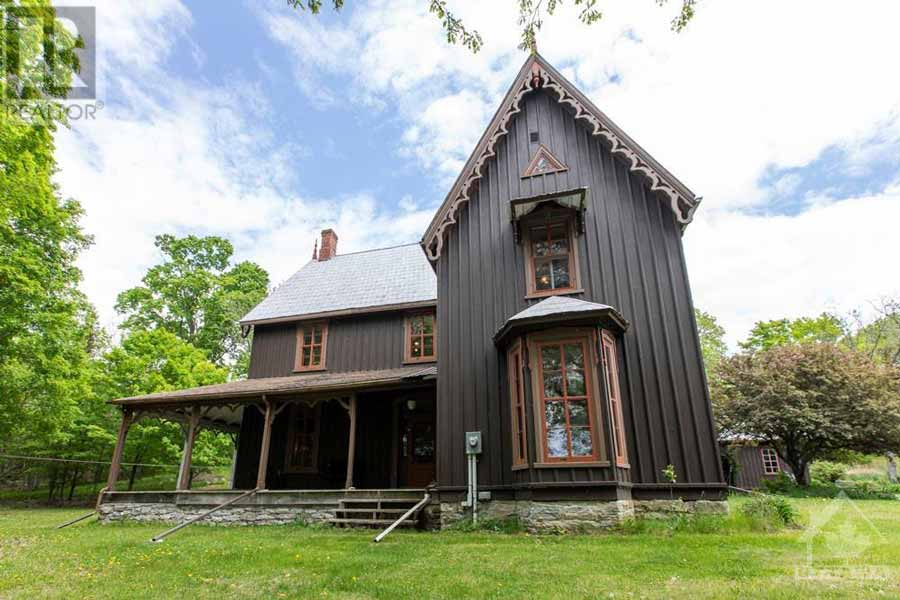 Gothic Revival Victorian Home