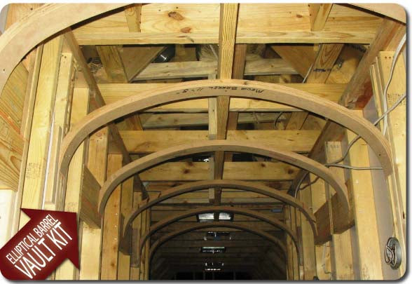 Barrel Vaulted Ceiling