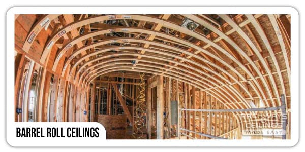 Elliptical Barrel Vault Ceiling