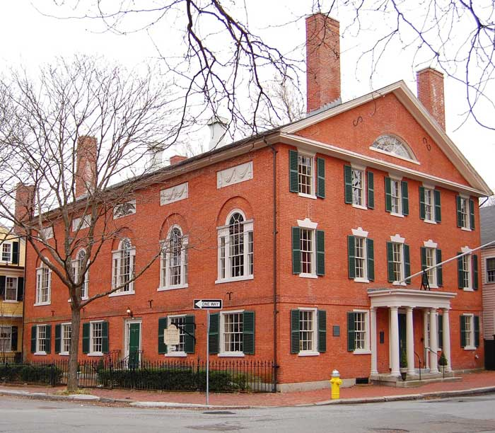 Federal-Style Architecture in Salem, Massachusetts