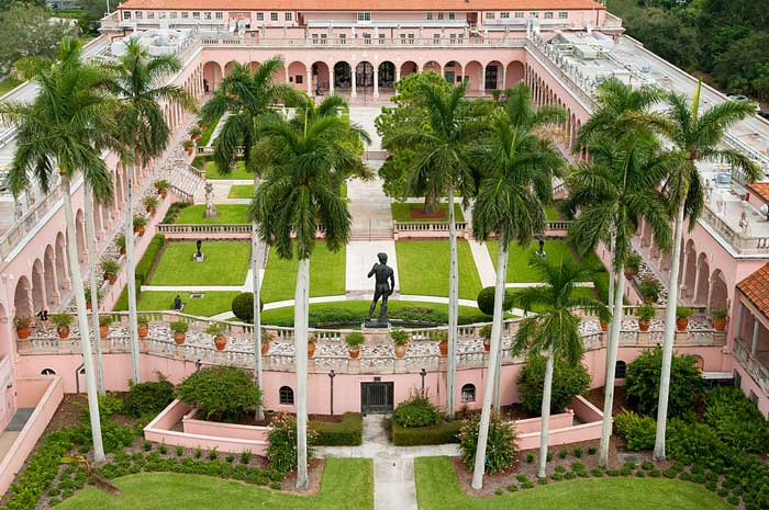 John and Mable Ringling Art Museum Courtyard Half-Circle Arches
