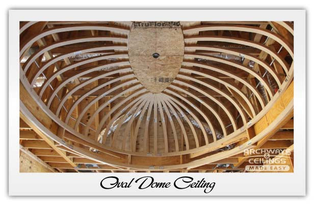 Oval Shaped Domed Ceiling