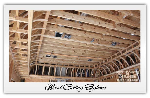 Cove Wood Ceiling System