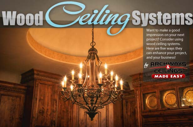 Dome Wood Ceiling System