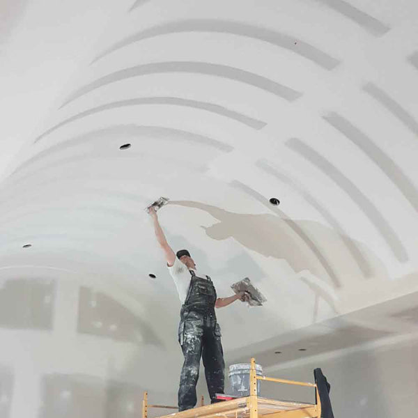 How To Drywall A Barrel Vault Ceiling
