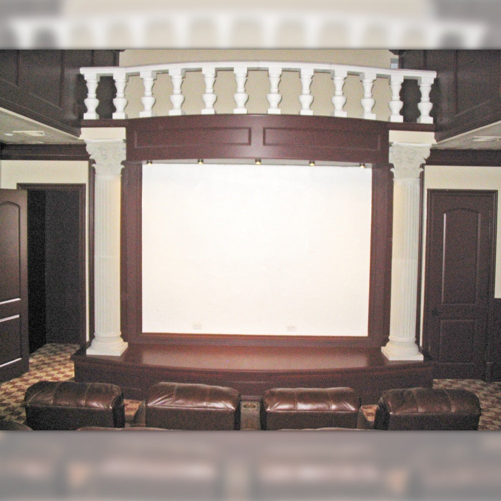 Custom Stage For Theatre and Media Room