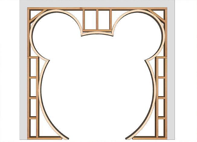 Mickey Mouse Custom Wall Design For Kid's Bedroom