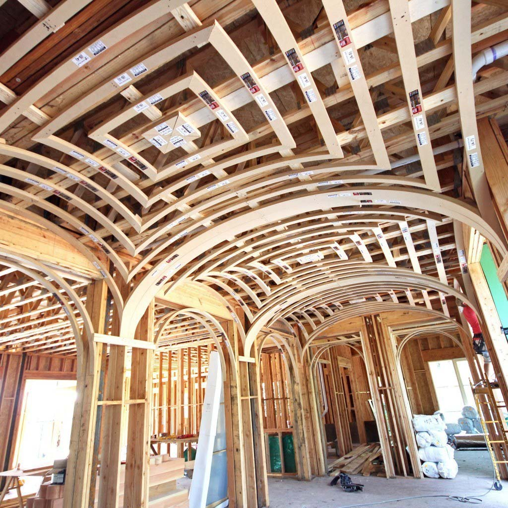groin vault ceiling framing