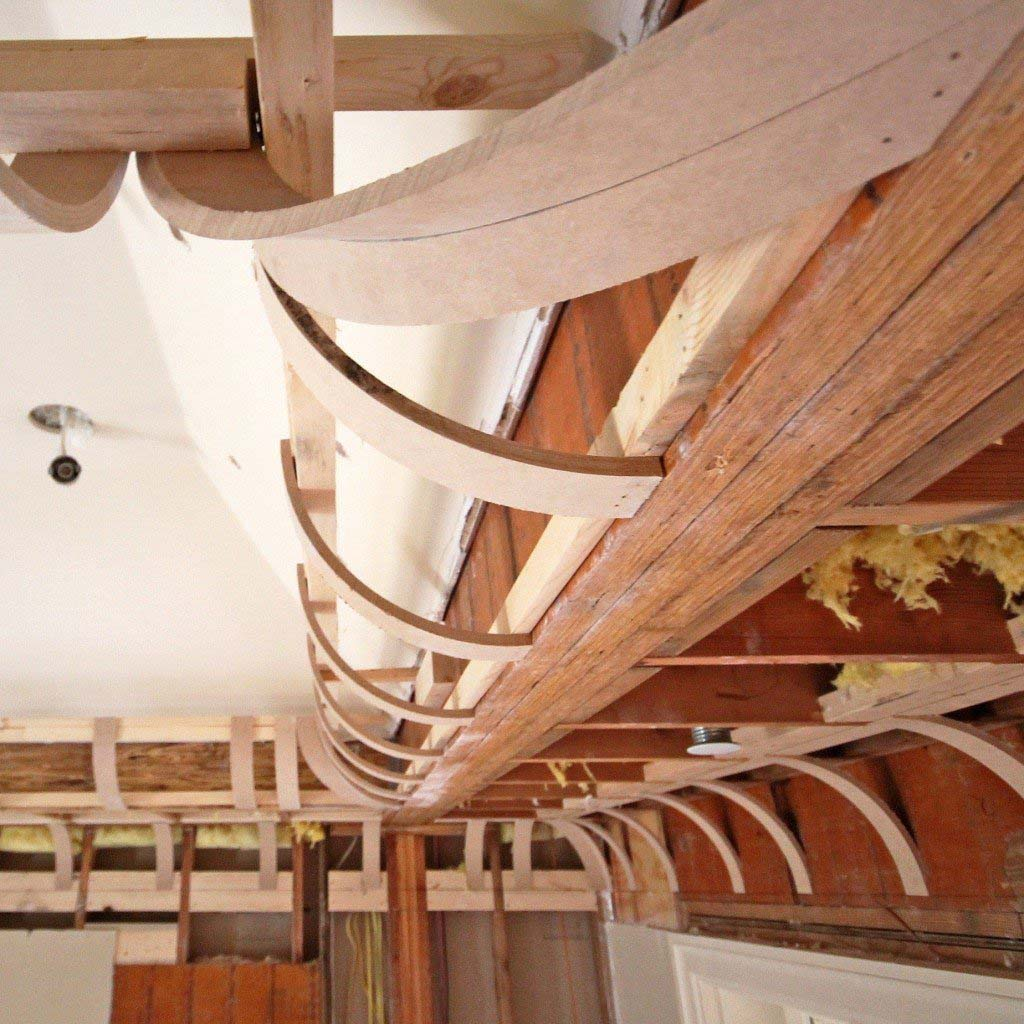 decorative cove ceiling framing