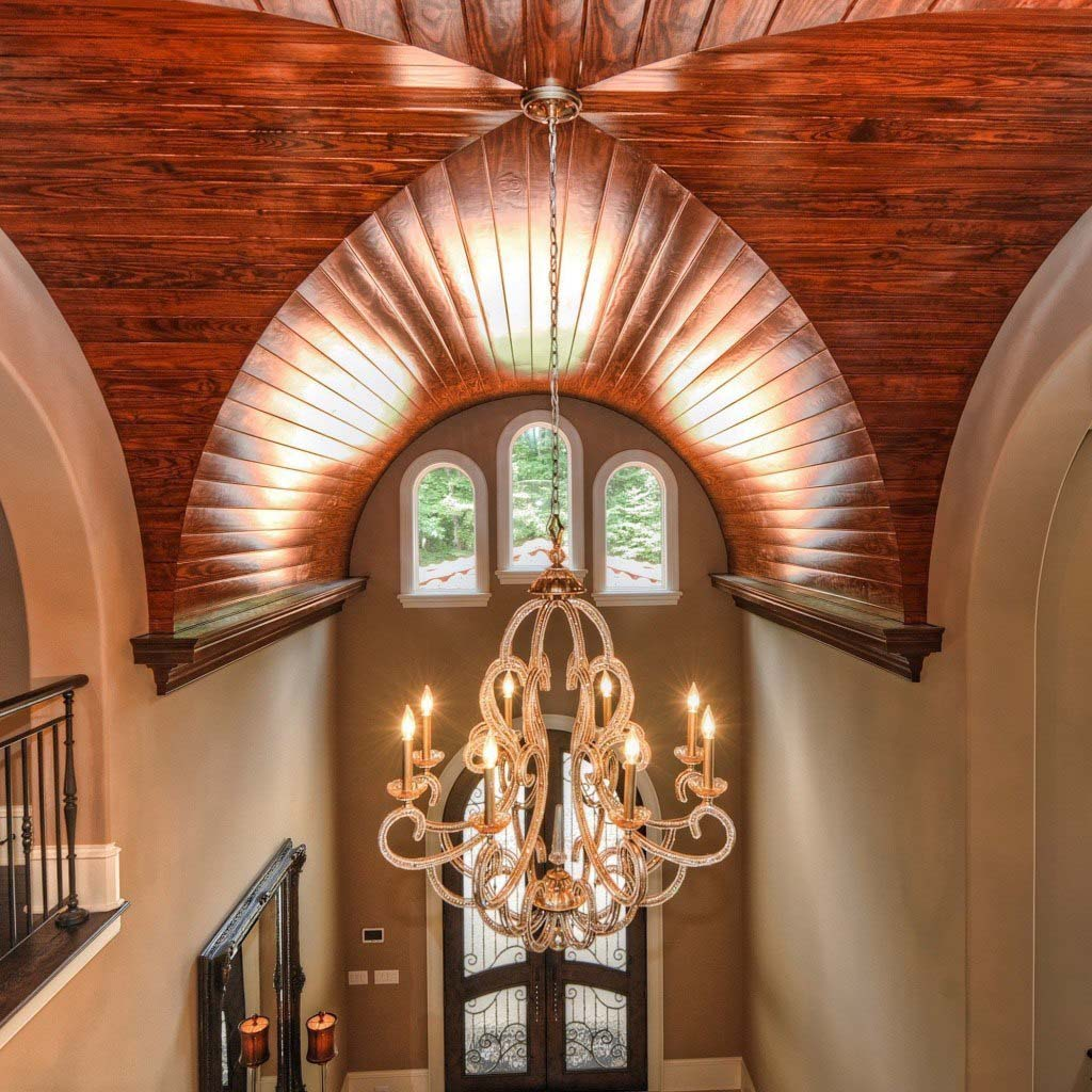 entry groin vault decorative ceiling