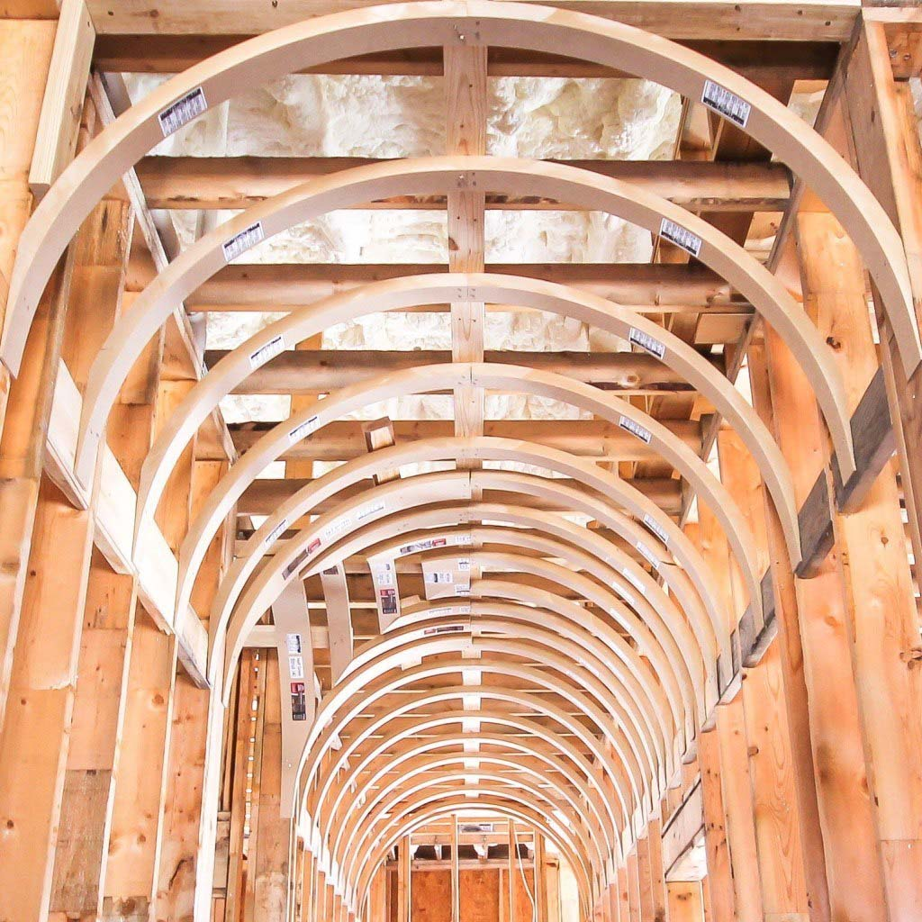 barrel ceiling framing