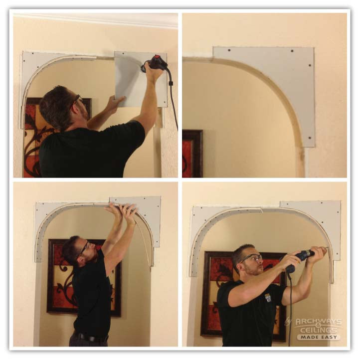 How to build an arch step 2