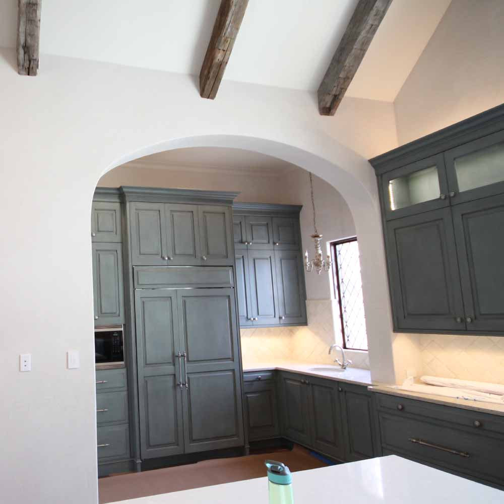 Tuscan Style Home Archways Kitchen