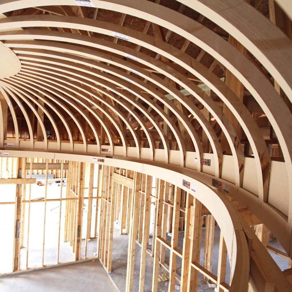framing an oval dome decorative ceiling