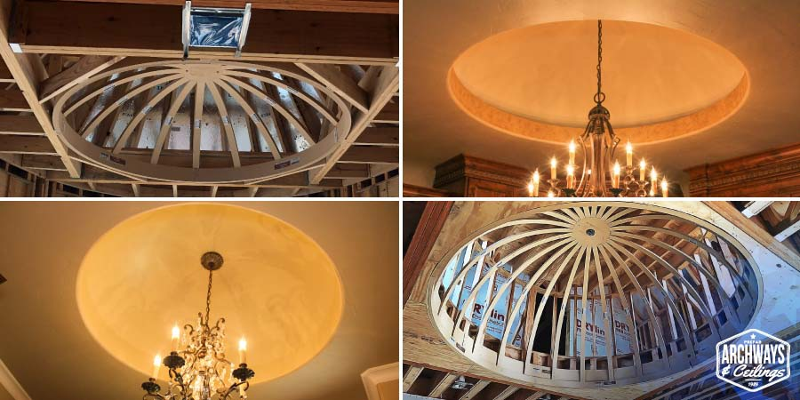 recessed-ceiling-dome-styles
