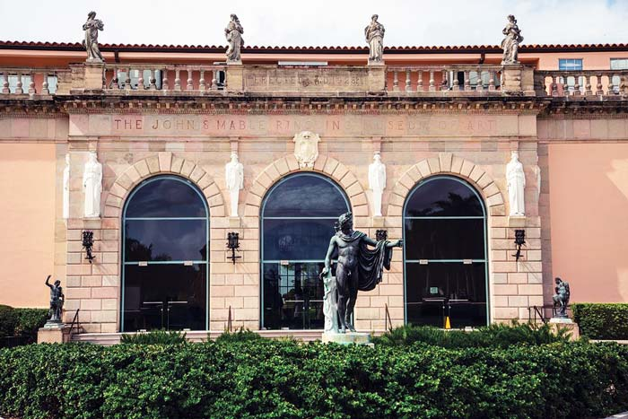 Ringling Museum Exterior Window Arches