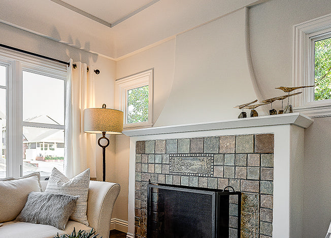 Creative Fireplace Remodel Ideas Using A Custom Fireplace Canopy Hood